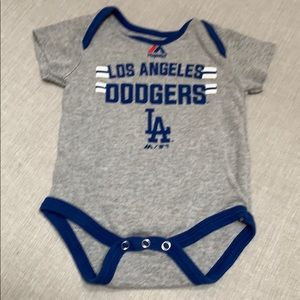 Majestic...LA Dodgers Baby Bodysuit